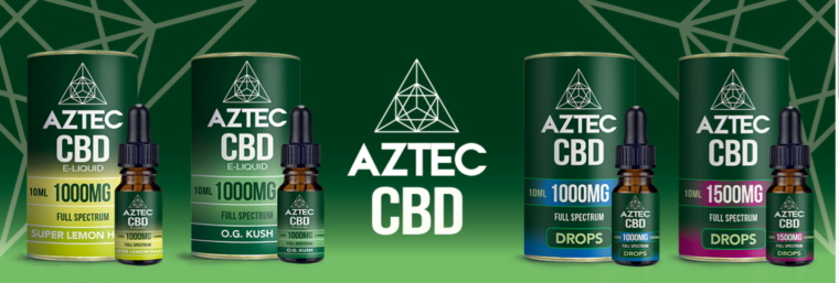 AZTECのCBDリキッドの効果について