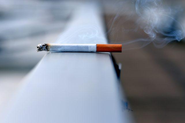 タバコを禁煙する人