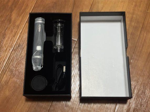 ディッパーディップ&ダブバブラーベポライザーの箱と中身