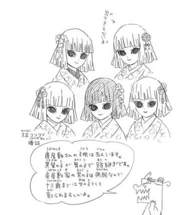 産屋敷耀哉の子供5人