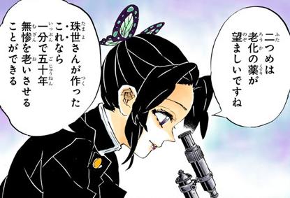 珠世と胡蝶しのぶ
