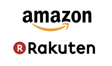 Amazon・楽天のロゴ画像